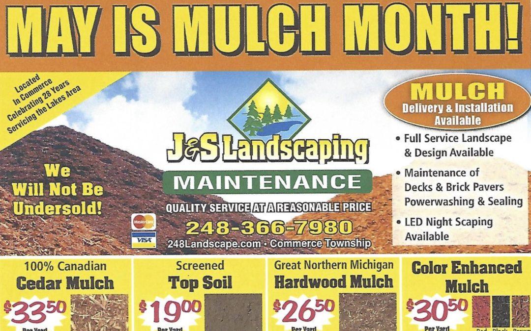 For Mulch Deliveries Call 1-866-Mulch-2-U